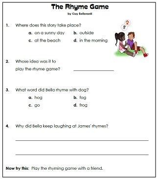 Ordinal Animal Character 02 picture composition worksheets for grade 1