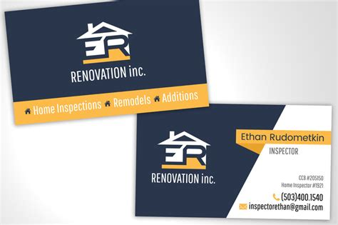 home renovation business cards best business cards