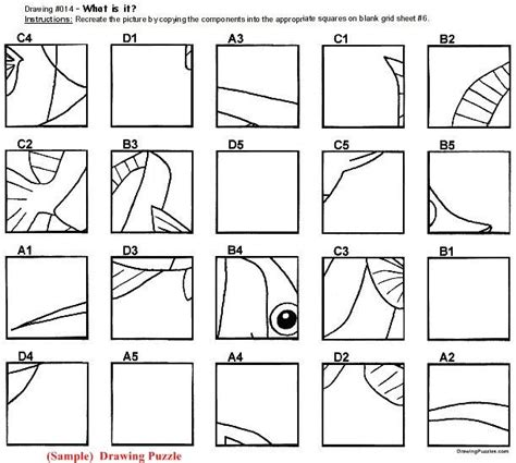 grid drawings templates 16 best mystery grid drawing images on drawing
