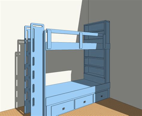 Plans For Built In Bunk Beds Built In Bunk Bed Plans 2 Bed Plan Stonebreaker Builders