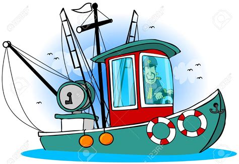 cartoon shrimp boat lobster boat clipart clipground
