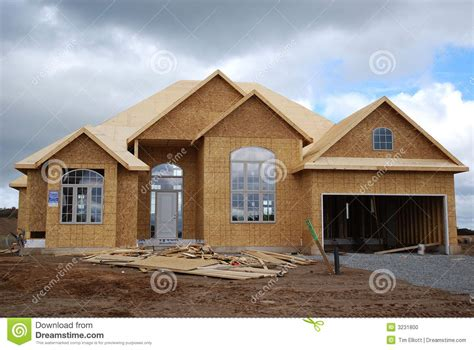 new house construction stock photo image 3231800