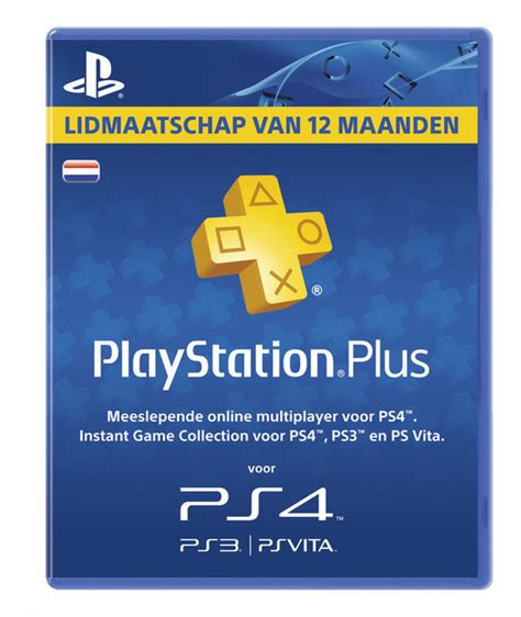 Ls Plus Gift Card by Playstation Plus Voucher 365 Dagen Nl Ps4 Kopen