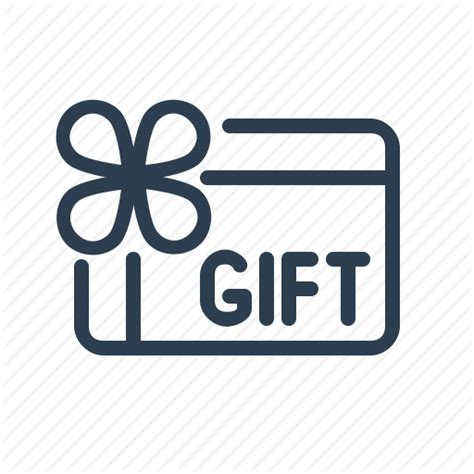 Gift Card Icon - coupon discount gift card giveaway present sale voucher icon icon search engine