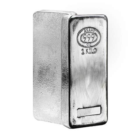 1 kilo silver bar ebay 1 kilo asahi silver bar 999 ebay