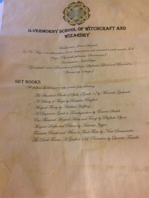 up acceptance letter ilvermorny acceptance letter follow up and challenge due