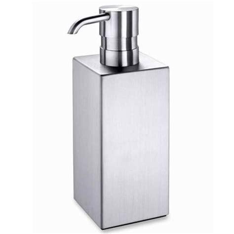 Rak Dispenser Stainless zack sapone 120mm soap dispenser stainless steel 40228 at plumbing uk