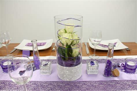 Tischdeko Hochzeit Lila by Tischdeko Lila Wei 223 Feier Tischdekorationen