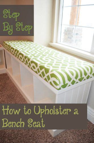 how to reupholster a bench seat 17 best ideas about window seat cushions on pinterest