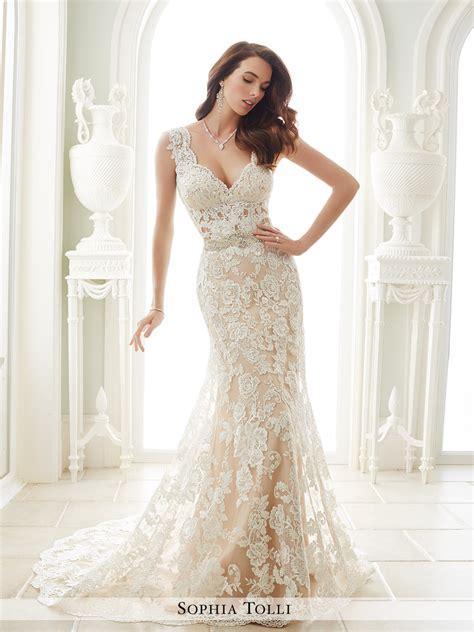White Day Wedding Dresses by Y21656 Fellini Tolli Wedding Dress