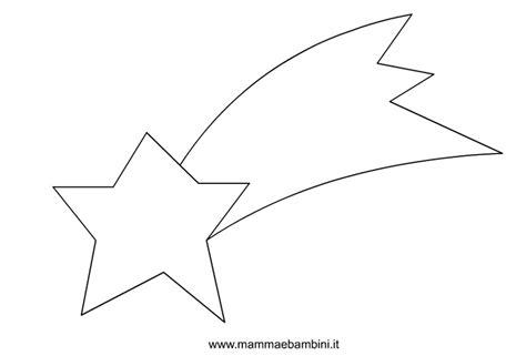 testo stella cometa sagome per natale stella cometa mamma e bambini