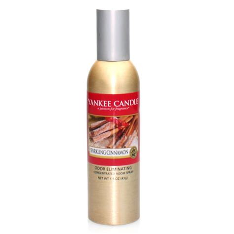 yankee candle room spray sparkling cinnamon yankee candle concentrated room spray giftshop