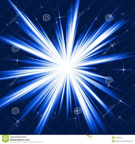 luz de estrellas luz azul explosi 243 n de la estrella fuegos artificiales estilizados
