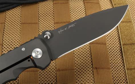 titanium black coating spartan harsey titanium black folding knife knifeart