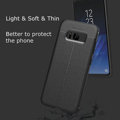 Softcase Anti Samsung Note 8 Anti Benturan Softcase bakeey anti fingerprint soft tpu litchi leather cover for samsung galaxy note 8 s8 s8 plus