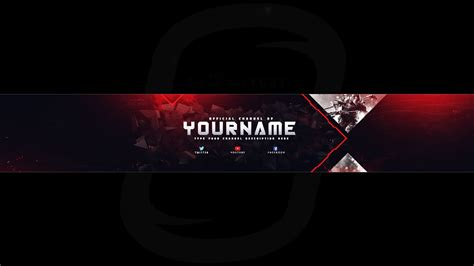 Top Gaming Banner Youtube Channel Art Photoshop Template Free Download Desi Gravity Free Gaming Banner Template
