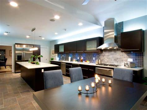 sleek modern kitchens hgtv