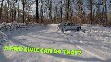 Front Wheel Drive Cars In Snow by How To Drift Front Wheel Drive Car In Snow