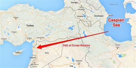 4 russian cruise missiles crash in iran en route to syria 4 russian cruise missiles aimed at syria crashed in iran