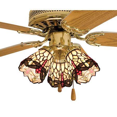 meyda tiffany ceiling fan light kit meyda 99245 tiffany hanginghead dragonfly fan light shade