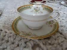 tara pattern in japanese sango china tea cup saucer tara pattern occupied japan 1