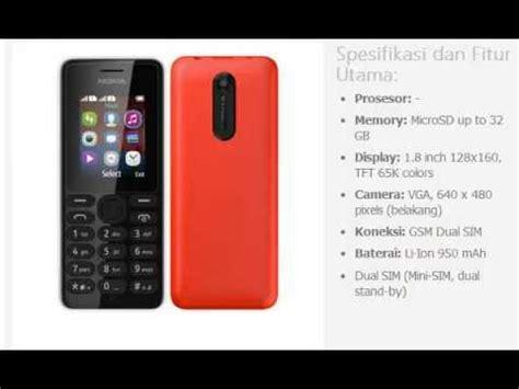 Hp Nokia Tipe 108 harga hp nokia 108 dual sim