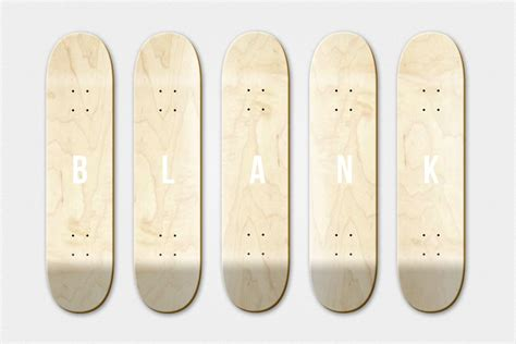 Blank Skateboard Deck by Why You Will Not Find Blank Decks In Our Shop