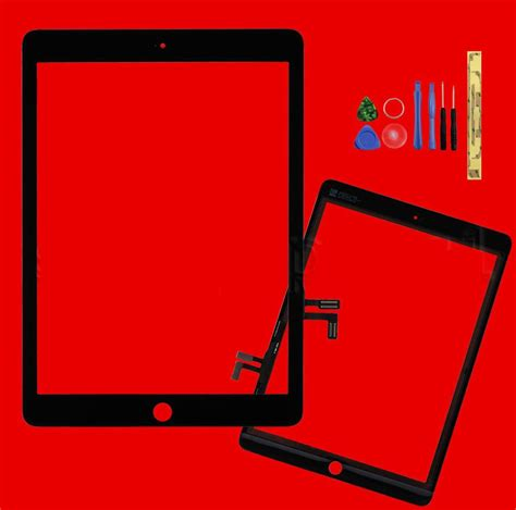 A1474 Black black touch screen glass digitizer lens replacement for
