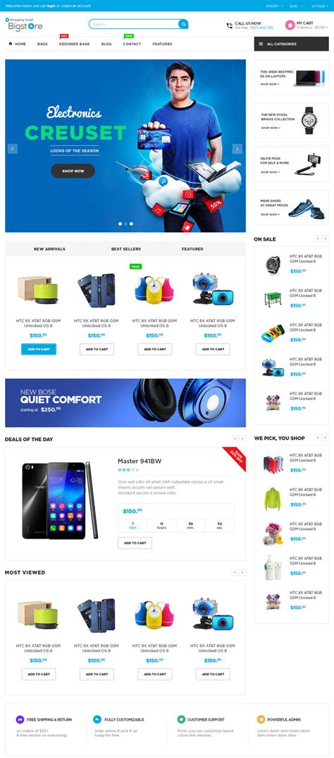 opencart themes design 40 best responsive opencart themes 2016