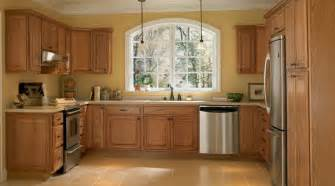 Kitchen Wall Color With Oak Cabinets Wall Color With Maple Cabinets Hampton Medium Oak