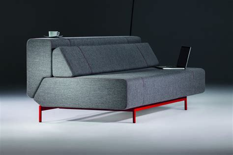 Comfortable Modern Sofa Modern And Comfortable Multifunctional Sofa Pil Low By Redesign Freshome