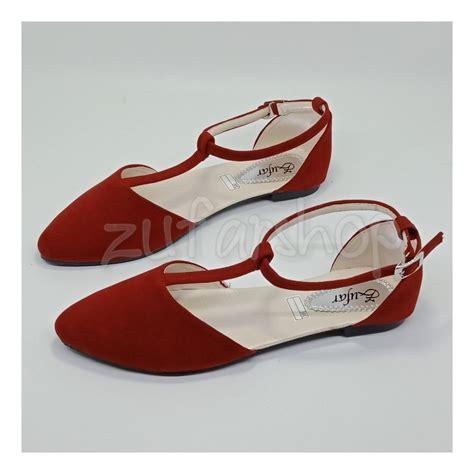 Sepatu Balet Wedges sepatu wanita branded berkualitas lazada co id