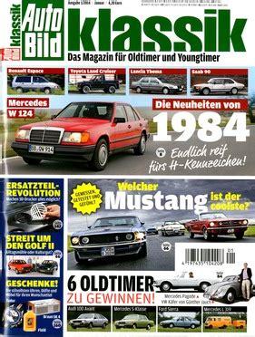 Auto Bild Ausgabe 1 by Foto Galerie Oldtimer News Neu Am Kiosk Auto Bild