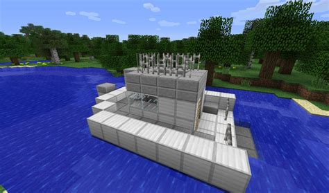 how to make a boat banner minecraft boat minecraft project