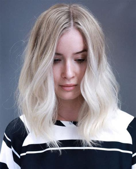 from platinum blonde to ombre 10 brilliant blonde ombre hair effects hairstylesout