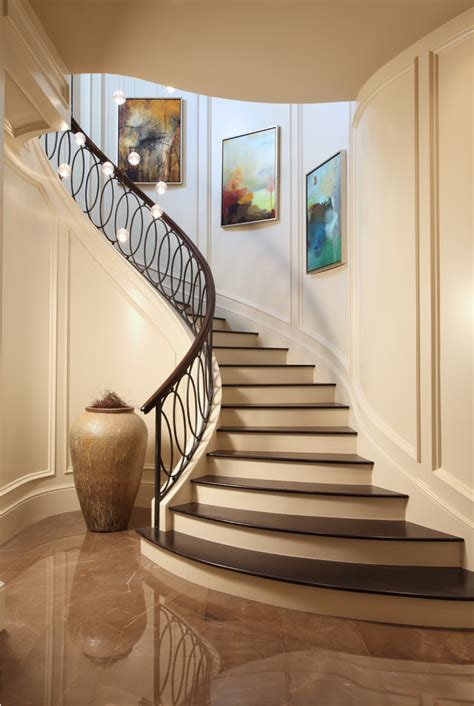 stair decor stair railings staircase craftsman with metal railing