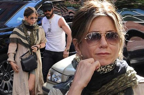 jennifer aniston recent news jennifer aniston and justin theroux spotted in new york