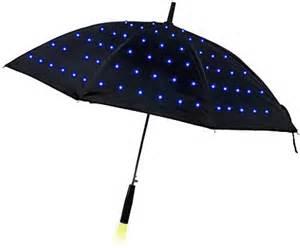 led lumadot umbrella right out of blade runner technabob