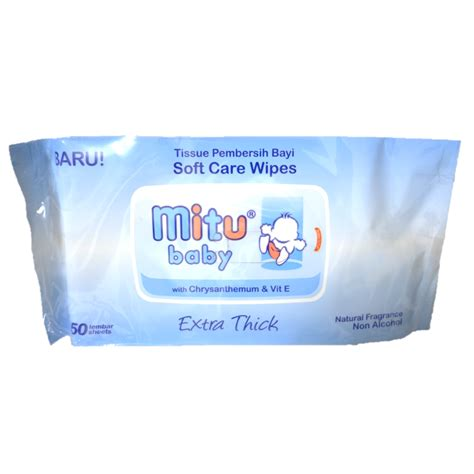 Wipes Mitu mitu baby wipes 50 pcs baby shop sg baby products