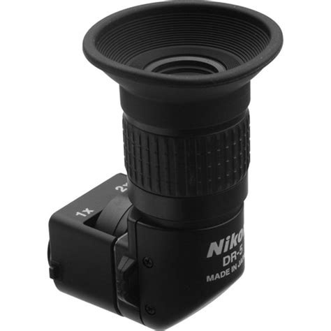 Nikon Dr 5 Right Angle Viewfinder nikon dr 5 in right angle viewfinder 4752 b h photo