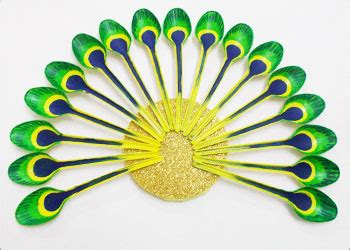 How To Make A Plastic Spoon L by Plastic Spoon Craft For Wall Decor Stylenrich