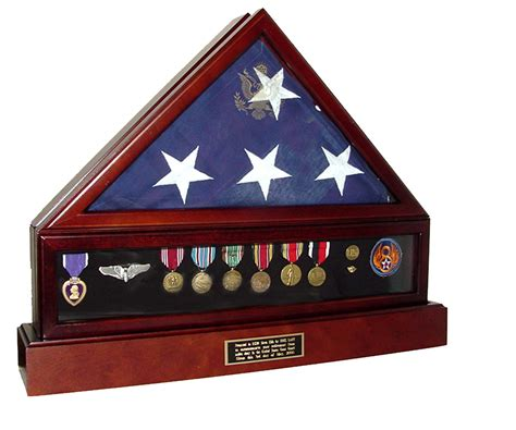 flag cases large triangle with pedestal flag display cases veterans flag cases