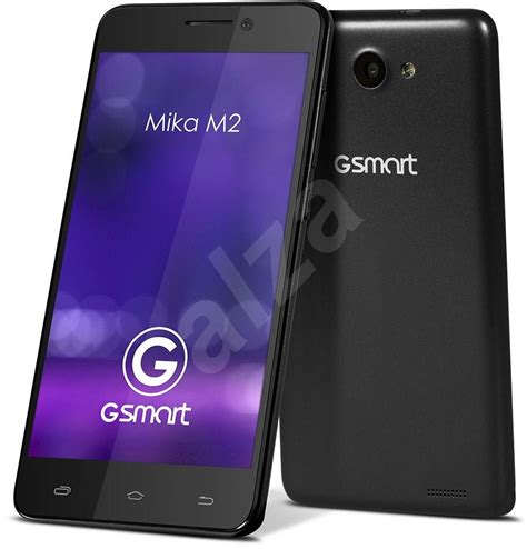 mobile m2 gigabyte gsmart m2 black mobile phone alzashop