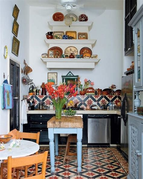 modern mexican kitchen design 15 captivating bohemian chic kitchen design ideas rilane