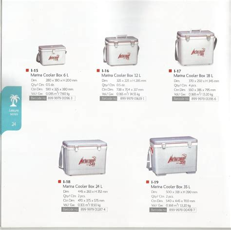Harga Cooler Box Kecil sell marina cooler boxes 6 liter code i 15 from