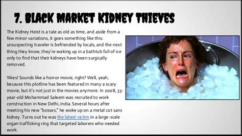 waking up in a bathtub full of ice 7 black market kidney thieves