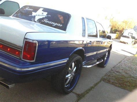 roll royce swangas texas swangas 1997 lincoln town carsignature sedan 4d