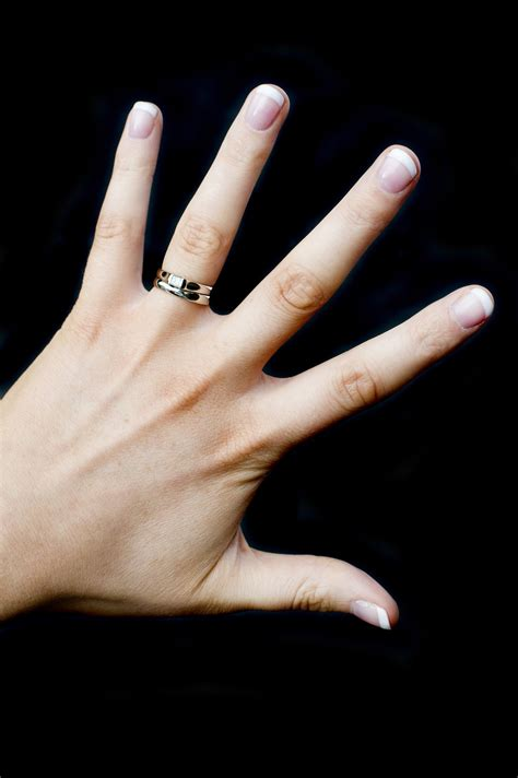Black Finger With A Ring by Free Stock Photo 5180 Engagement And Wedding Rings