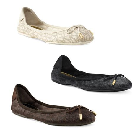 mk shoes flats michael michael kors mk city ballet flats rank style