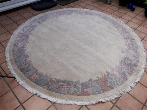 nepal teppiche nepal teppich rund 2 5 m in rangsdorf teppiche kaufen